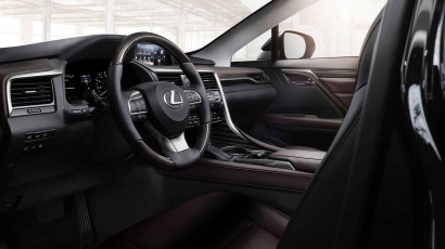 Lexus RX450h interieur dashboard design