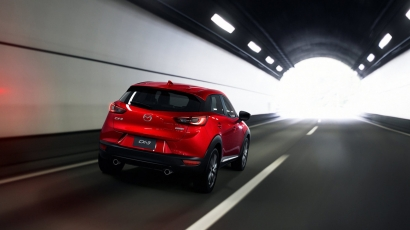 mazda cx-3 tunnel