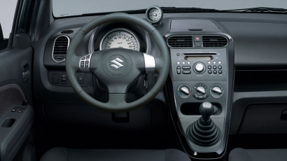 Suzuki Splash interieur