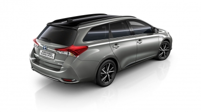 Toyota Auris Black Edition Silver Touring Sports