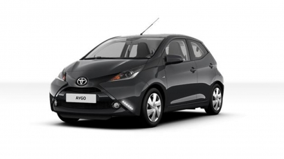 Toyota AYGO x-play Navigator Charcoal Grey voorkant