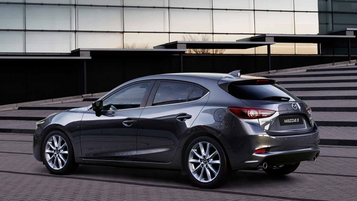 Mazda3 2017 Machine Grey