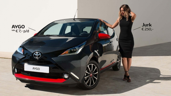 Toyota AYGO Fashion Edition Edgy