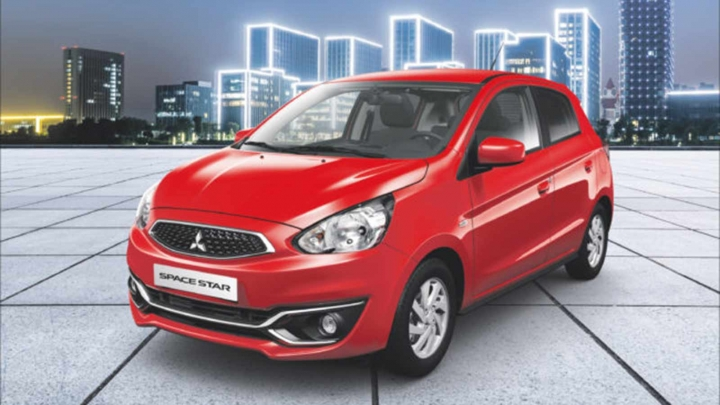 Mitsubishi space star special edition red