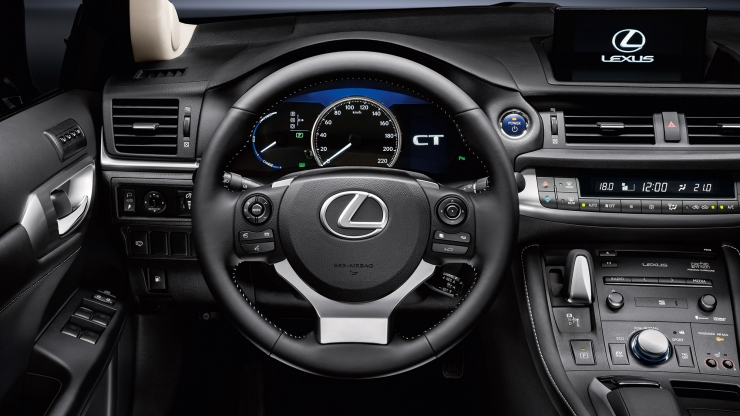 lexus ct 2017 interieur dashboard zwart