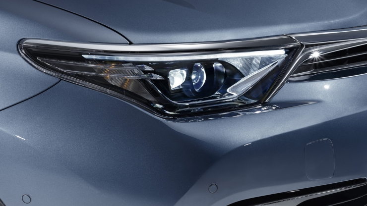 Toyota Auris 2015 hatchback koplamp