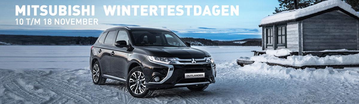 Van Dorst Mitsubishi Bergen op Zoom winter testdagen