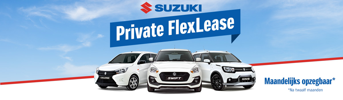 Van Dorst Suzuki Flexibel Private Lease