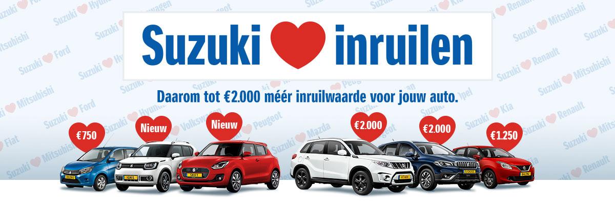 Van Dorst Suzuki loves inruilen inruilacties