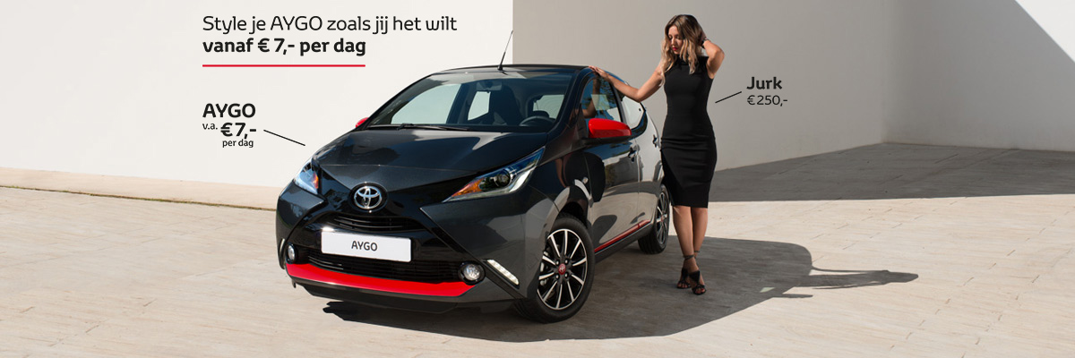Toyota AYGO Fashion Editions Fashionchick