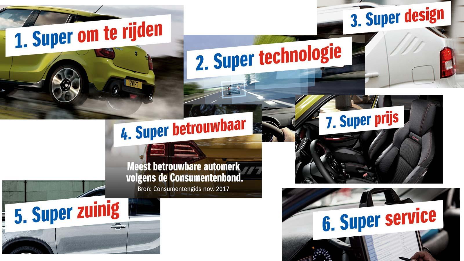 De 7 garanties van Suzuki