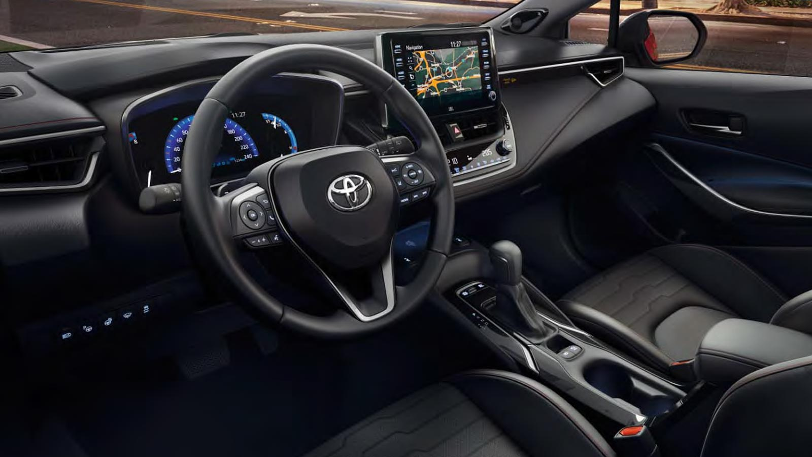 interieur corolla hb promo first edition